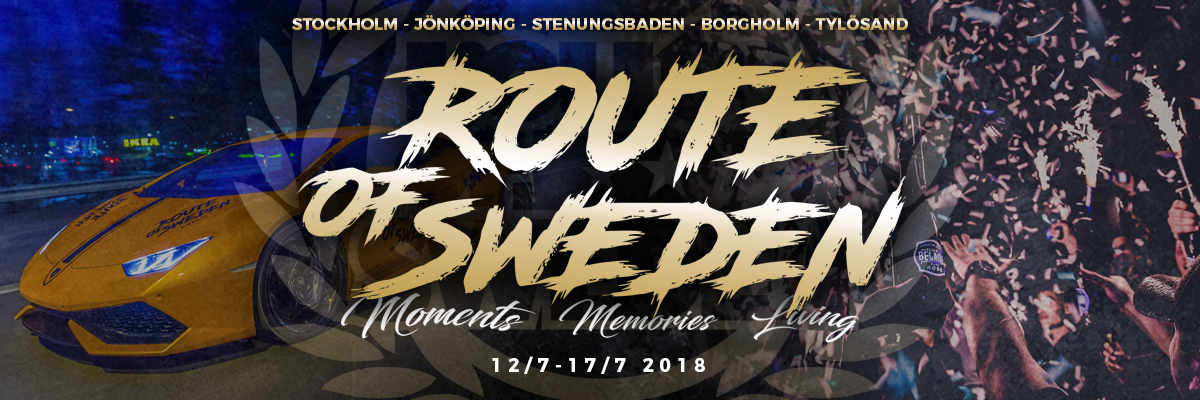Route of Sweden 2018